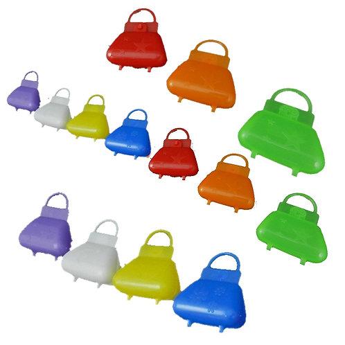 25 Mini Bolsas Plásticas Bolsinha Surpresa Lembrancinha Mimo