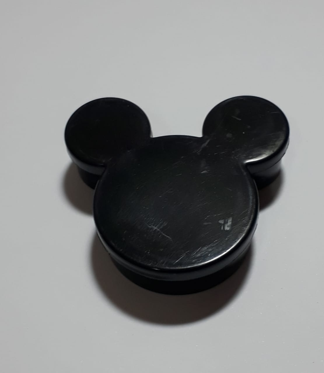 Caixa Plástica Preta Mickey Minnie Lembr