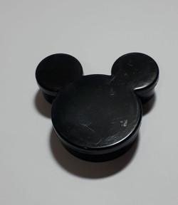 caixa acrilica preta mickey minnie lembr