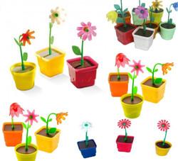 mini vaso com flor brinquedos sacolinha surpresa 5x2cm_edited