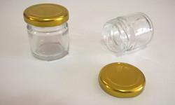papinha vidro 40mL tampa dourada