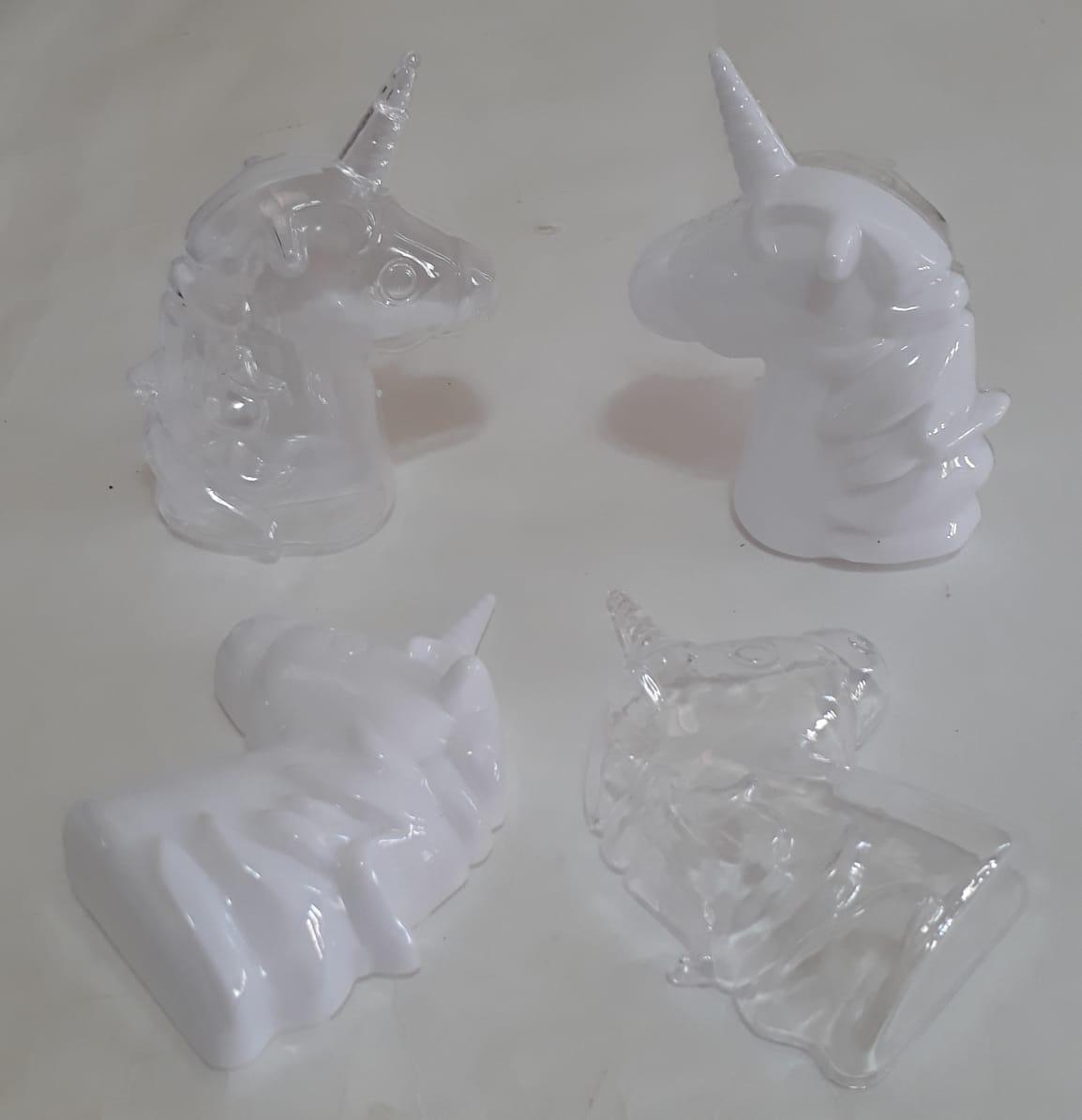 Caixa Acrílica Unicornio  Linda  Lembrancinhas