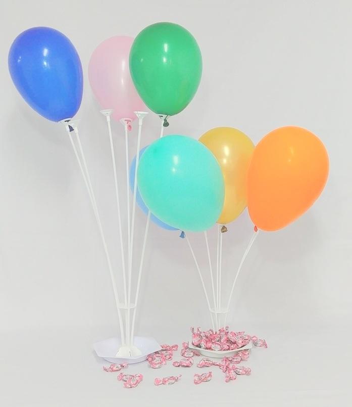 Porta Balões Simula Gás Helio