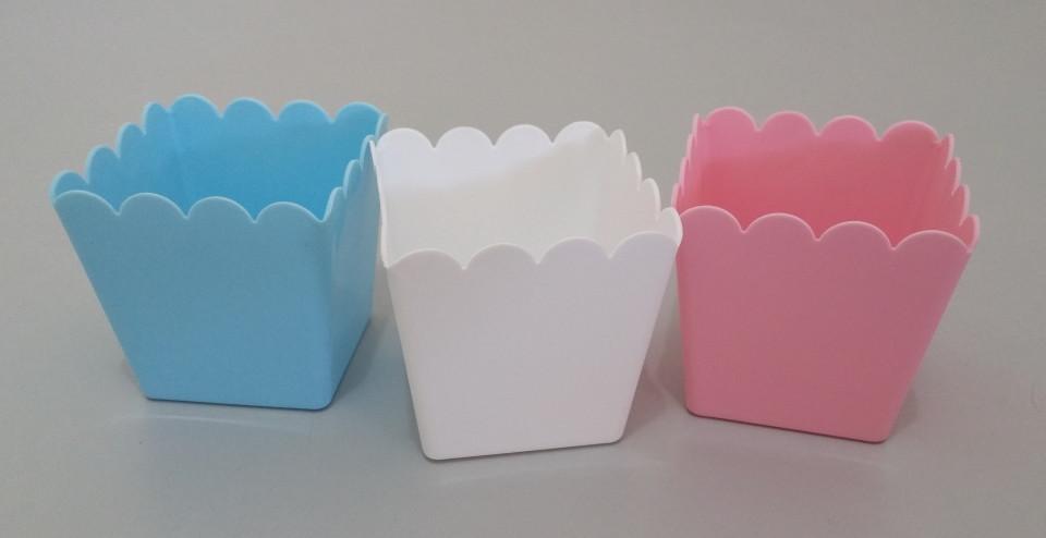 Mini Cachepot Plastico Lembrancinhas
