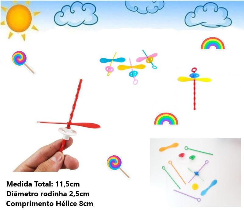 giro helice brinquedo infantil sacolinha