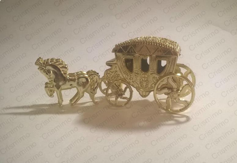 Carruagem Dourada Lembrancinhas