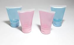 Bisnagas Plástica 30 mL Color Lembrancinhas Alcool Gel Hidratante