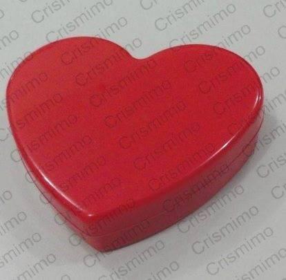 Caixa Plástica Coração
