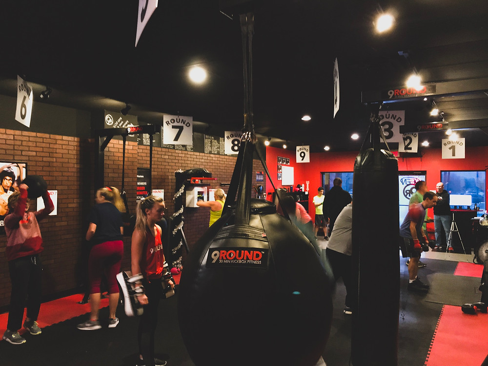 boxing, stronger in 30, kickboxing fitness, workout video