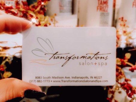 Last Minute Gift Ideas at Transformations Salon and Spa