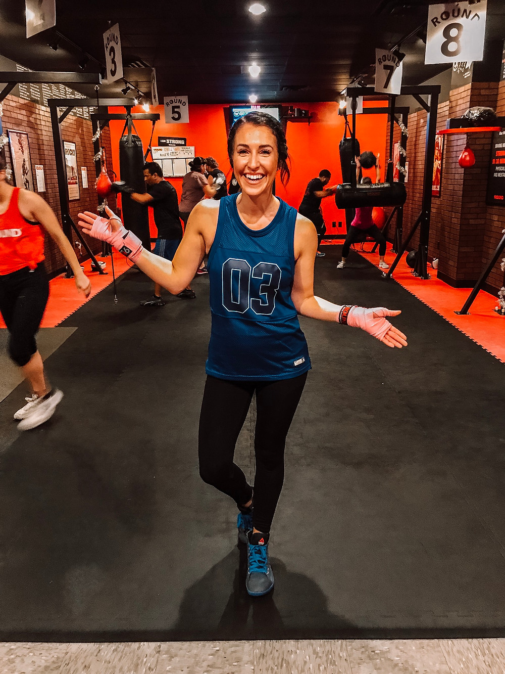 kickboxing, kickboxing fitness, workout video, 9round, Indianapolis, indy blogger, fitness blogger