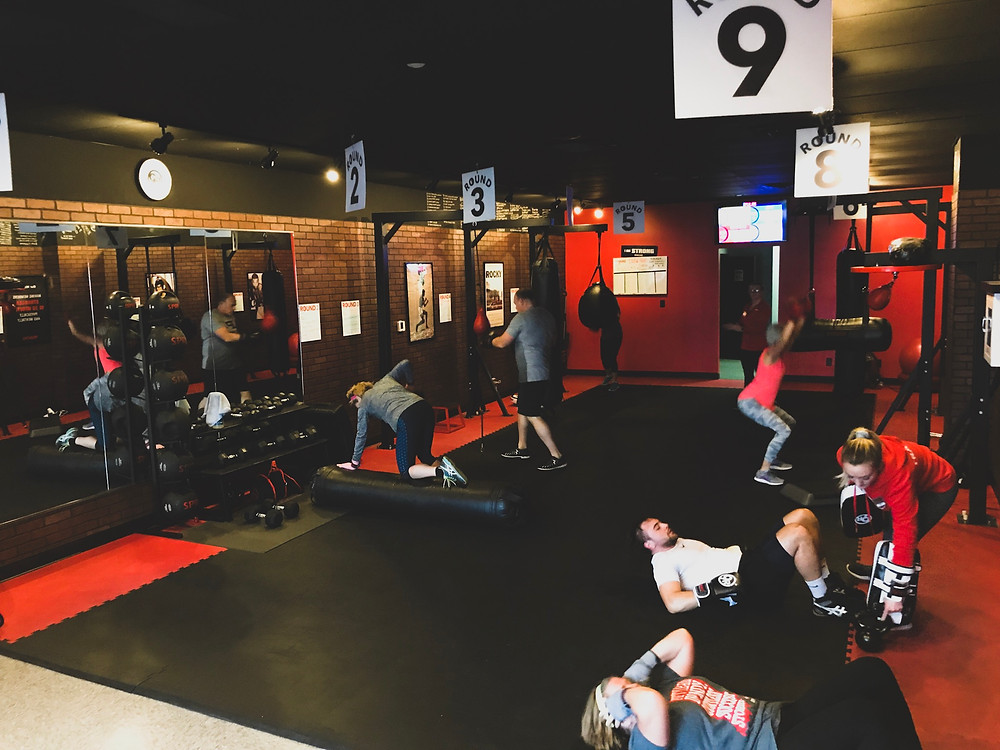 30 minute workout, workout video, kickboxing fitness