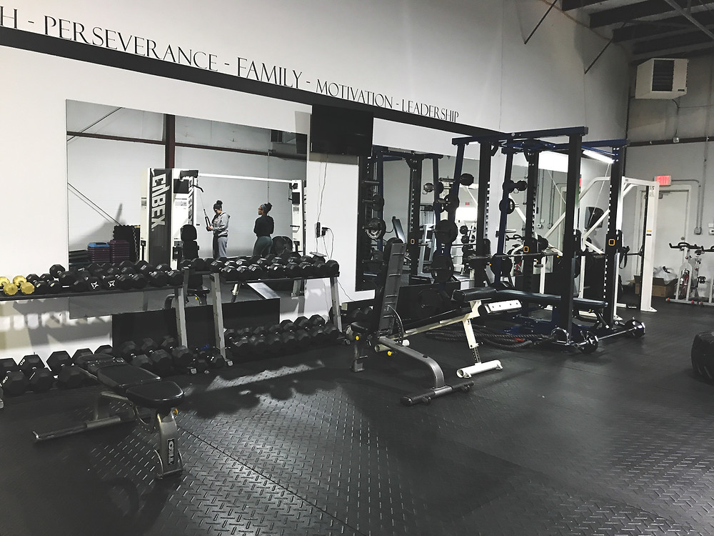 weights, squat rack, Indianapolis gym, fitness facility
