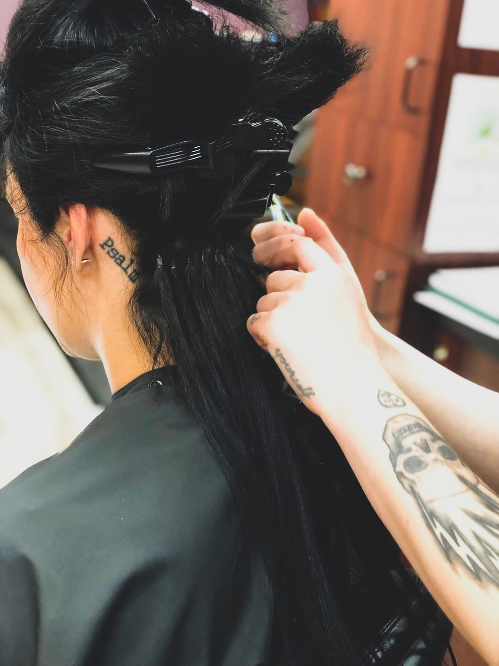 hair extensions, dreamcatchers, bonded hair extensions, Indianapolis hair extensions, Southside salon, Indianapolis salon, Indianapolis spa, indy hair extensions