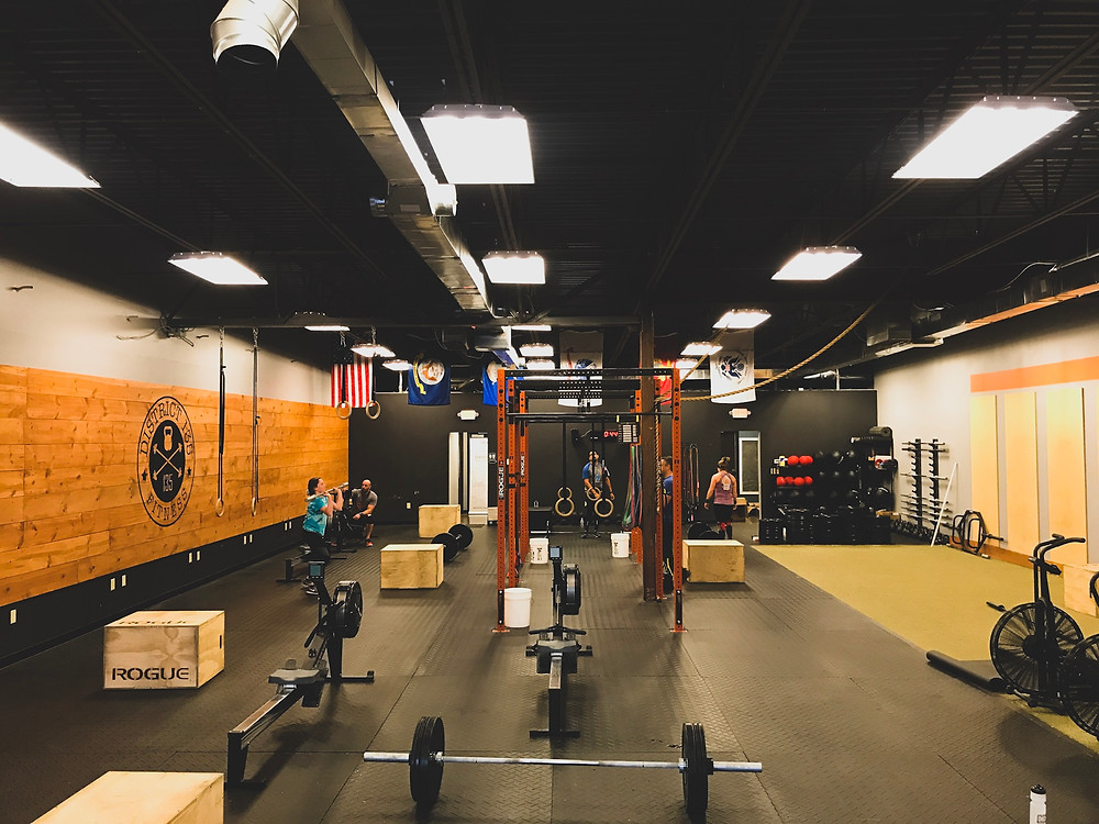 crossfit. wod, wotd, gym equipment, clean and jerks