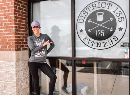 District 135 Fitness April Workout