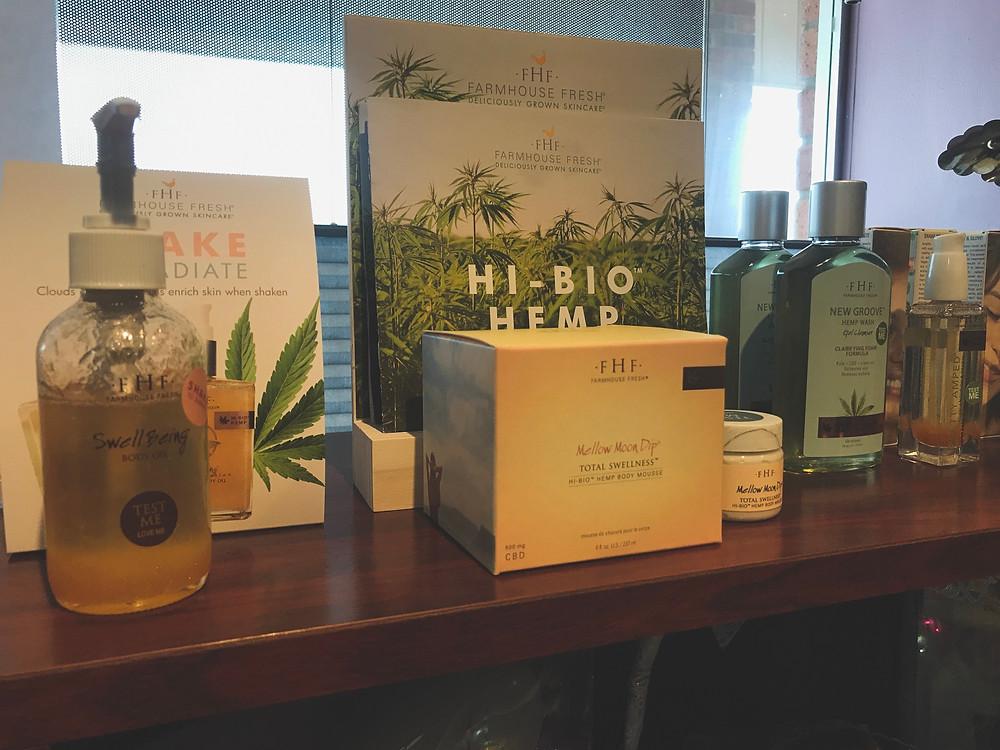 cbd products, cbd retail, cbd oil, indianapolis spa, indianapolis salon, massage, wellness