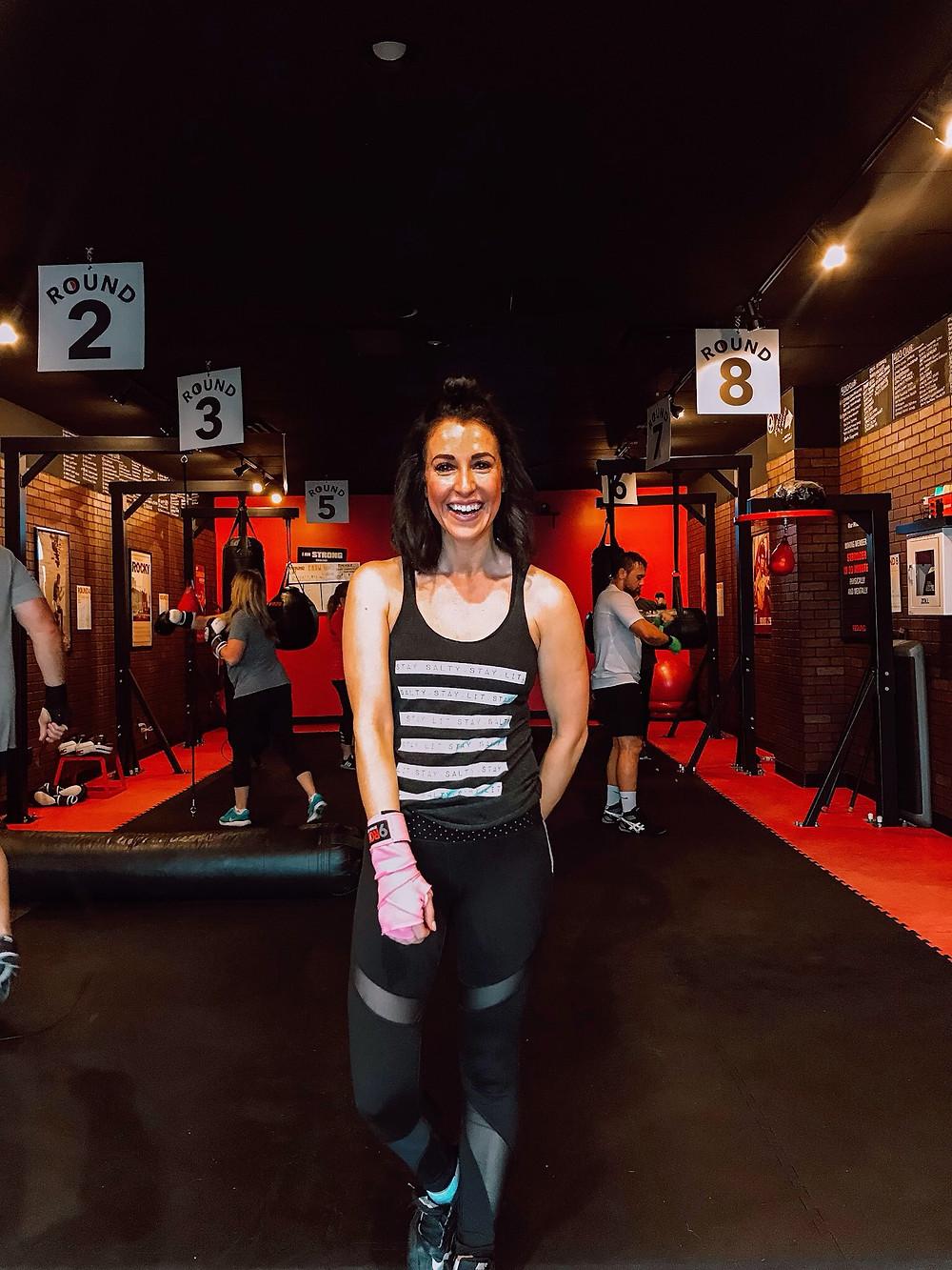 kickboxing, fitness, workout video, 9Round, kickboxing fitness