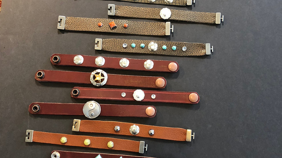 Fun Leather Bracelets