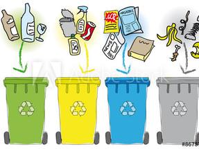 Collecte des ordures ménagères & tri + distribution sacs VILLAGE