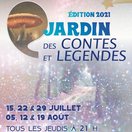 Programme Jardin des Contes et Légendes