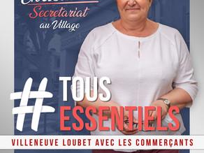 #TOUS ESSENTIELS - LES COMMERCANTS EN HAUT DE L'AFFICHE !