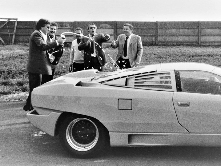 From the Countach to the Diablo: Courage and Emotions