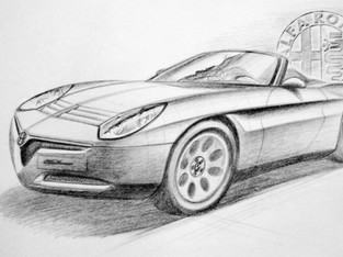 """Against all odds, the Alfa Romeo new Spider """"Duetto"""" project 938"""