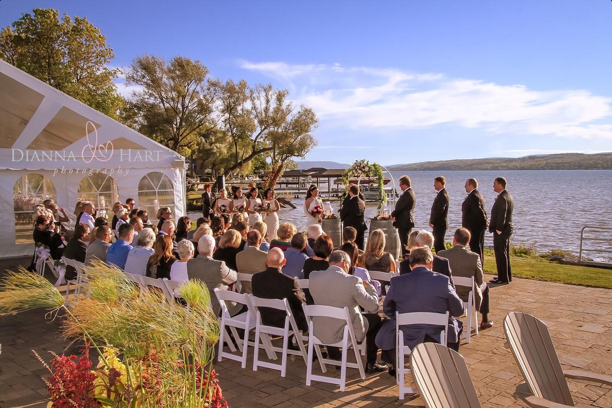 Canandaigua lake weddings