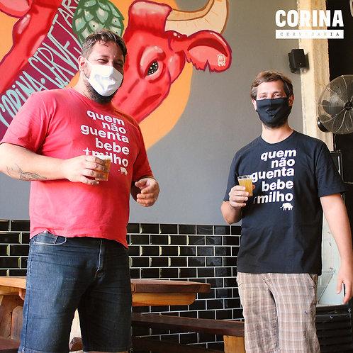 camiseta - Quem Não Guenta Bebe Milho
