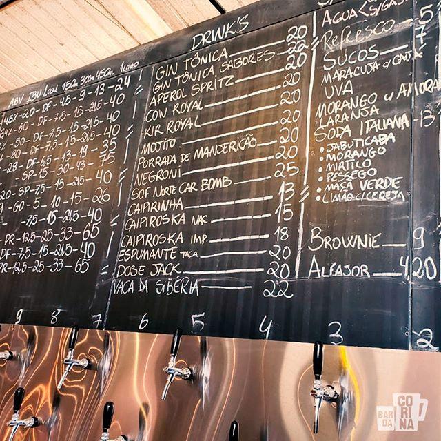 aqui no Bar da Corina não tem só cerveja