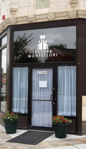 Lectura Montessori School Entrance
