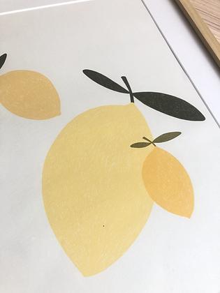 LEMON TRIO - Print