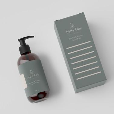 Bella Lab Botanicals Packaging Design