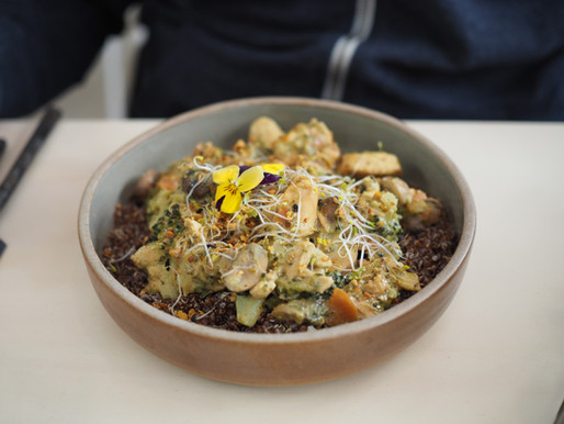 Wild Mushrooms & Quinoa