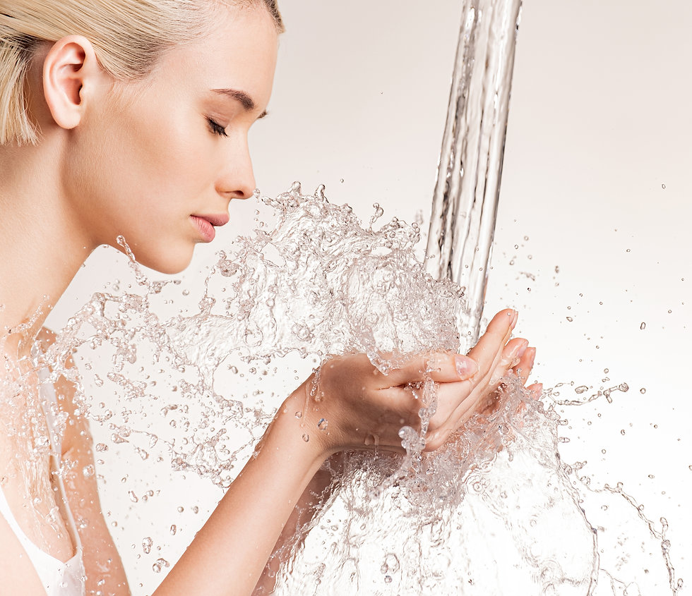 Photo of  young woman with clean skin an