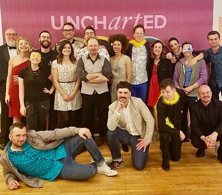The Uncharted crew and artists