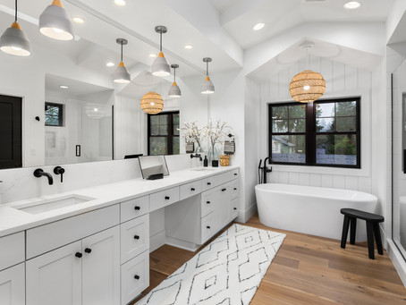 Farmhouse Design for Luxury Bathroom Remodeling