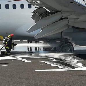 Πυρκαγιά σε αεροσκάφος στη Τεχεράνη