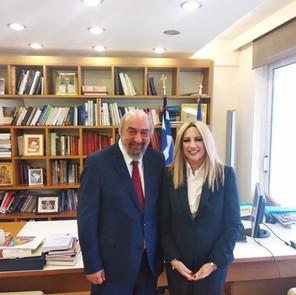 Υποψήφιος για το Ευρωπαϊκό Κοινοβούλιο ο Γιώργος Νικητιάδης. Συνάντηση με Φώφη Γεννηματά