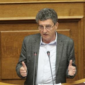 Ηλίας Καματερός: Ούτε ένα ευρώ δεν έβαλε η Ν.Δ. για την αποκατάσταση των ζημιών.