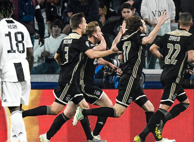 Champions League, Γιουβέντους-Άγιαξ 1-2: