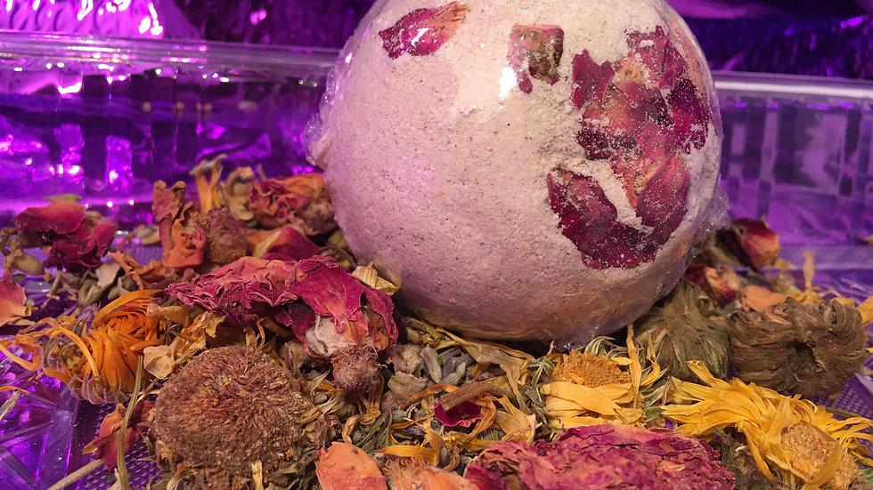 Medium Herbal Clay Bath Bomb