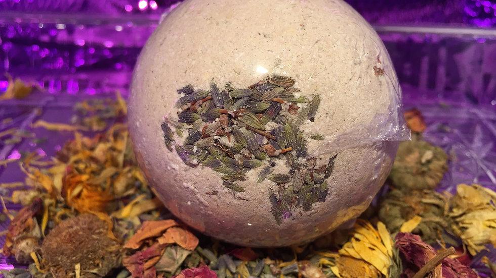 Large Herbal Clay Bath Bomb