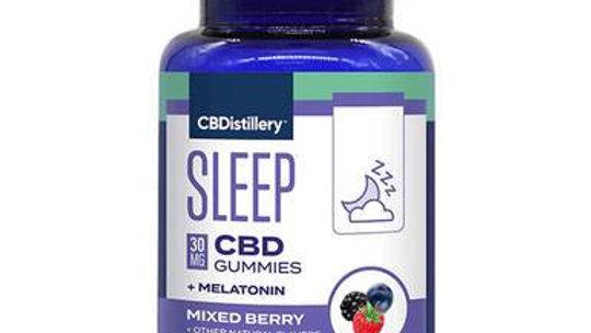 CBDistillery - CBD Edible - Mixed Berry Nighttime Gummies - 30mg