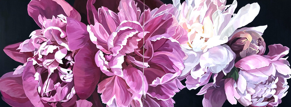 Peony Commission - SOLD