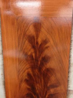 Flamed Mahogany Panel