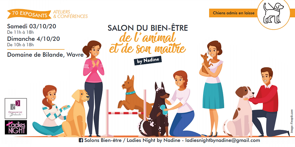 Salon du Bien-être de l'animal et de son maitre by Nadine