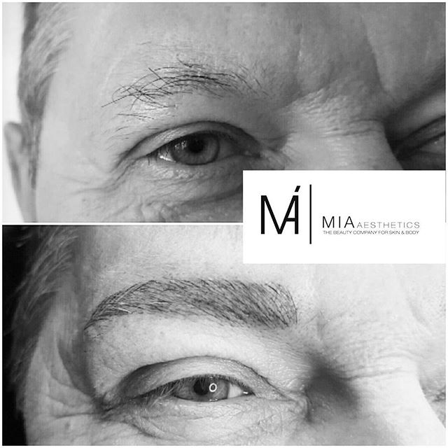 _ WE LOVE EYEBROWS IN PERFECTION_ _MIA Microblading Eyebrows®Methode FOR MEN_3D _ Natürlich feinste_