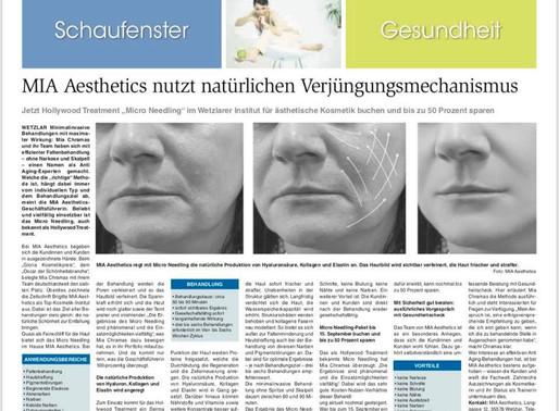 MIA Aesthetics nutzt natürlichen Verjüngunsmechanismus
